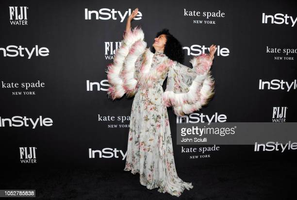 Tracee Ellis Ross attends the 2018 InStyle Awards with Fiji Water on October 22 2018 in Los Angeles California