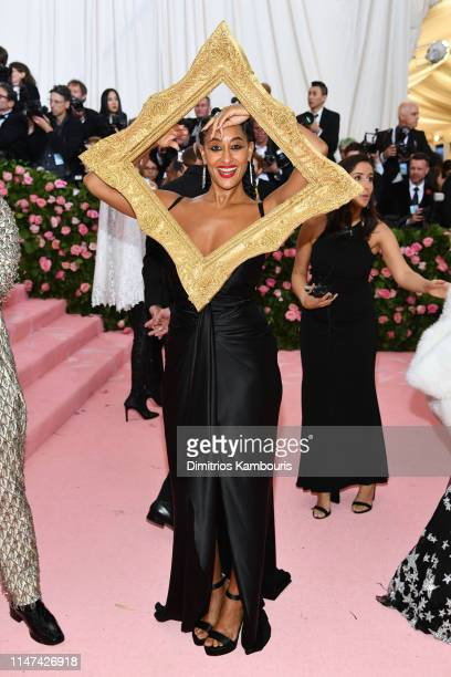 Tracee Ellis Ross attends The 2019 Met Gala Celebrating Camp: Notes on Fashion at Metropolitan Museum of Art on May 06, 2019 in New York City.