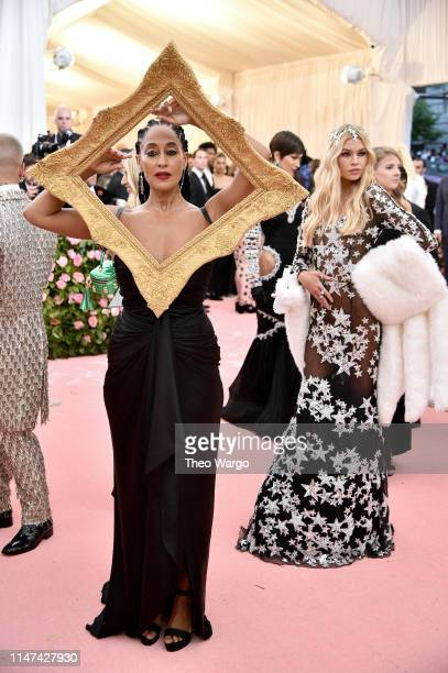 Tracee Ellis Ross attends The 2019 Met Gala Celebrating Camp Notes on Fashion at Metropolitan Museum of Art on May 06 2019 in New York City