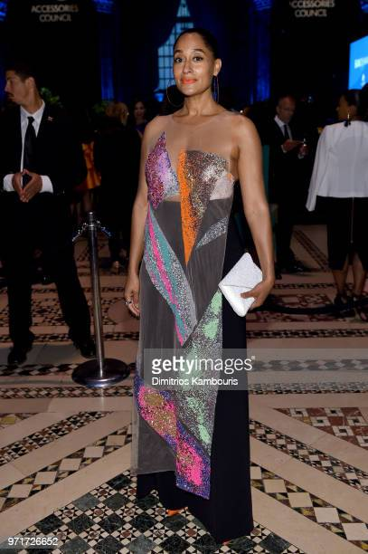 Tracee Ellis Ross attends the 22nd Annual Accessories Council ACE Awards at Cipriani 42nd Street on June 11 2018 in New York City
