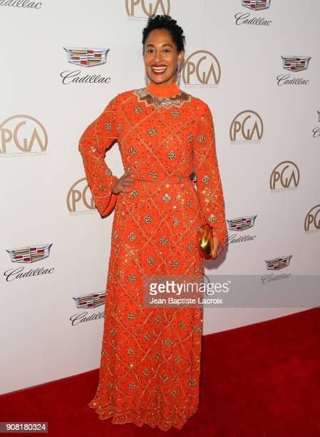 Tracee Ellis Ross attends the 29th Annual Producers Guild Awards at The Beverly Hilton Hotel on January 20 2018 in Beverly Hills California