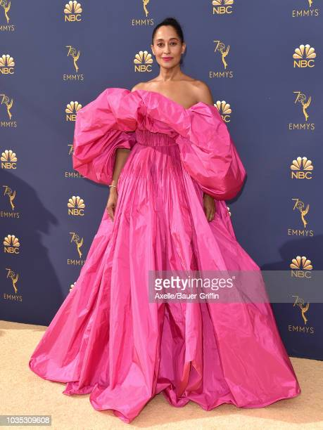 Tracee Ellis Ross attends the 70th Emmy Awards at Microsoft Theater on September 17 2018 in Los Angeles California