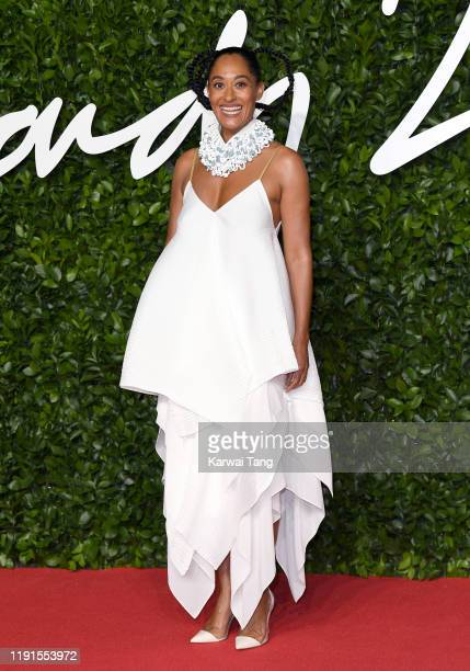 Tracee Ellis Ross attends The Fashion Awards 2019 at the Royal Albert Hall on December 02, 2019 in London, England.