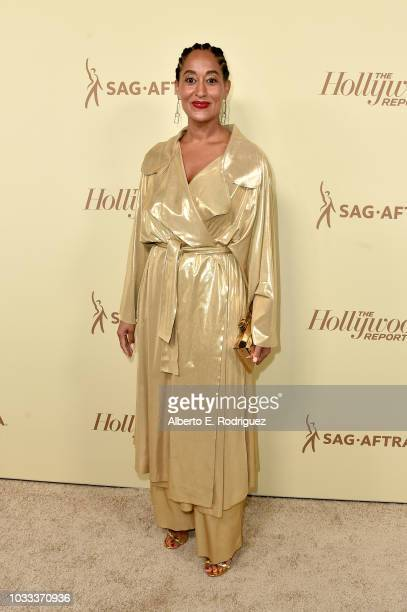 Tracee Ellis Ross attends The Hollywood Reporter and SAGAFTRA Annual Nominees Night to celebrate Emmy Award contenders at Avra Beverly Hills...