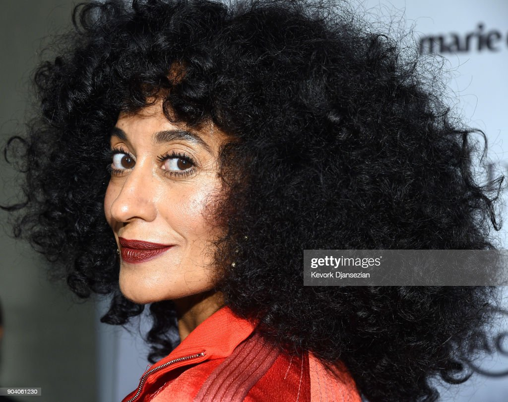 Tracee Ellis Ross attends the Marie Claire's Image Maker Awards 2018 at Delilah LA on January 11, 2018 in West Hollywood, California.