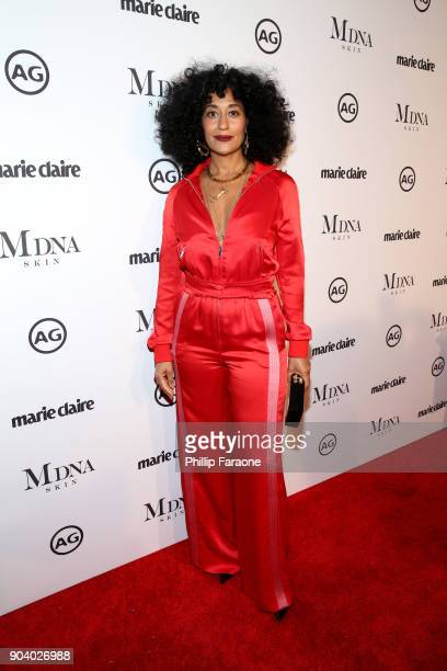 Tracee Ellis Ross attends the Marie Claire's Image Makers Awards 2018 on January 11 2018 in West Hollywood California