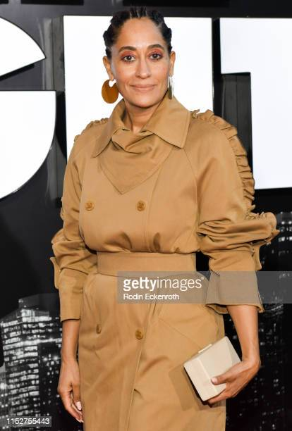 """Tracee Ellis Ross attends the LA premiere of Amazon Studio's """"Late Night"""" at The Orpheum Theatre on May 30, 2019 in Los Angeles, California."""