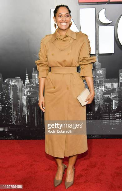 Tracee Ellis Ross attends the LA premiere of Amazon Studio's Late Night at The Orpheum Theatre on May 30 2019 in Los Angeles California