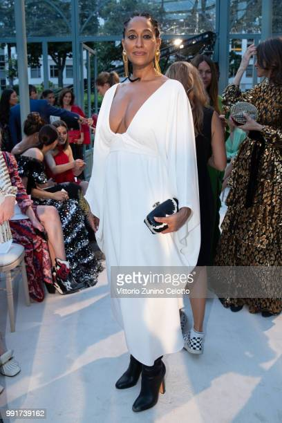 Tracee Ellis Ross attends the Valentino Haute Couture Fall Winter 2018/2019 show as part of Paris Fashion Week on July 4 2018 in Paris France