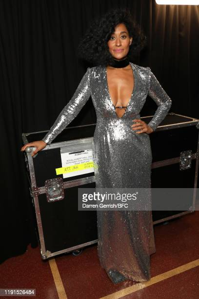 Tracee Ellis Ross backstage stage during The Fashion Awards 2019 held at Royal Albert Hall on December 02 2019 in London England