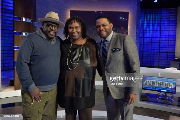 TRUTH Tracee Ellis Ross Cedric the Entertainer Iliza Shlesinger and Joshua Malina make up the celebrity panel on 'To Tell The Truth' Episode 213...