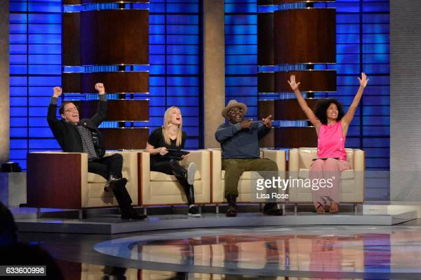 TRUTH Tracee Ellis Ross Cedric the Entertainer Iliza Shlesinger and Joshua Malina make up the celebrity panel on To Tell The Truth Episode 213 SUNDAY...