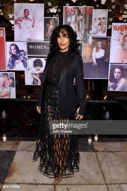 Tracee Ellis Ross celebrates with Belvedere Vodka at Vanity Fair and Lancome Paris Toast Women in Hollywood, hosted by Radhika Jones and Ava...
