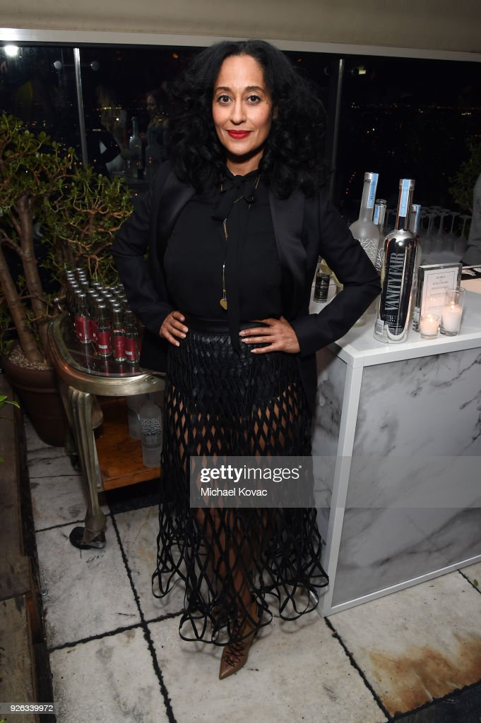 Tracee Ellis Ross celebrates with Belvedere Vodka at Vanity Fair and Lancome Paris Toast Women in Hollywood, hosted by Radhika Jones and Ava DuVernay, on March 1, 2018 in West Hollywood, California.