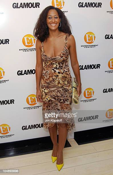Tracee Ellis Ross during Entertainment Tonight Glamour Magazine Celebrate The 55th Annual Emmy Awards at Mondrian Hotel in West Hollywood California...