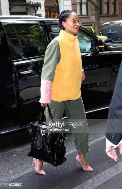 Tracee Ellis Ross is seen walking in midtown on May 3 2019 in New York City