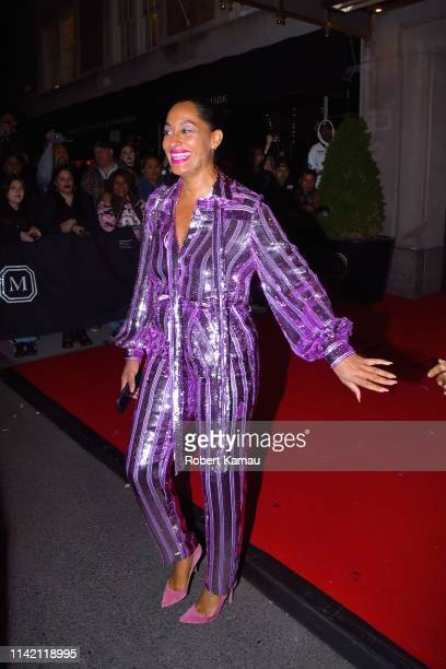 Tracee Ellis Ross seen out on the 2019 MET Gala day on May 6 2019 in New York City