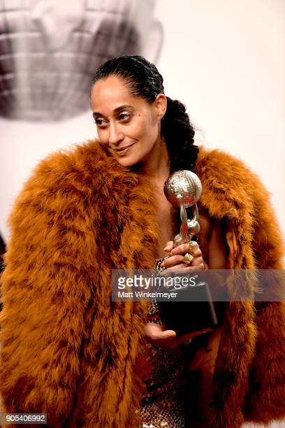 Tracee Ellis Ross winner of the Outstanding Actress in a Comedy Series award for 'blackish' poses in the press room for the 49th NAACP Image Awards...