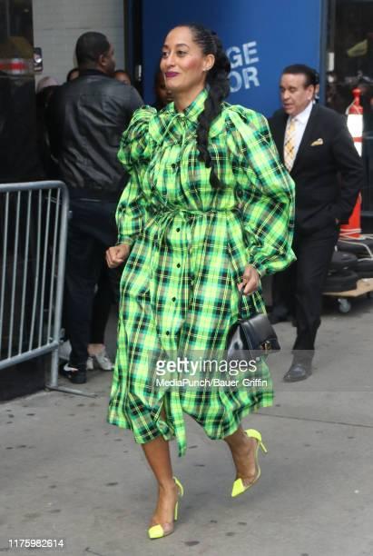Tracee EllisRoss is seen on October 14 2019 in New York City