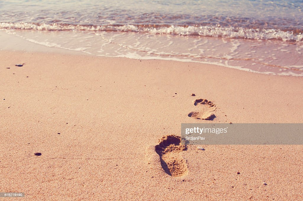Traces of enjoyment : Stock Photo