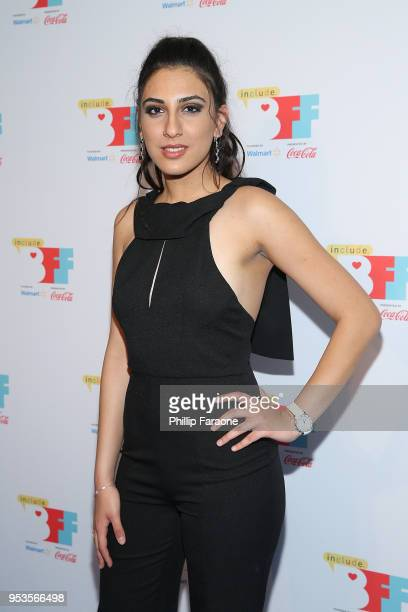 Tracey Aivez attends the 4th Annual Bentonville Film Festival on May 1 2018 in Bentonville Arkansas