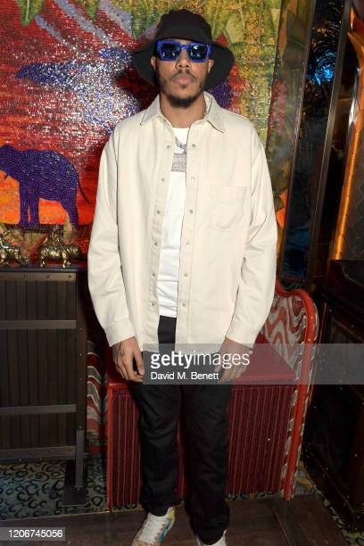 Tracey attends the TOMMYNOW after party at Annabels on February 16 2020 in London England