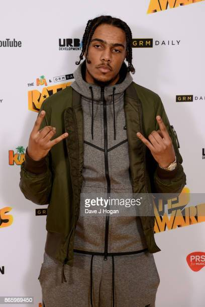 Tracey attends UK Grime and Hip Hop the KA GRM Daily RATED AWARDS at legendary music venue The Roundhouse on October 24 2017 in London England