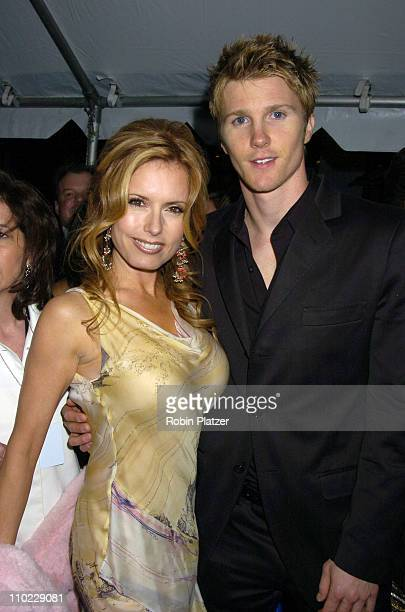 Tracey Bregman and Thad Luckinbill during 32nd Annual Daytime Emmy Awards Outside Arrivals at Radio City Music Hall in New York City New York United...