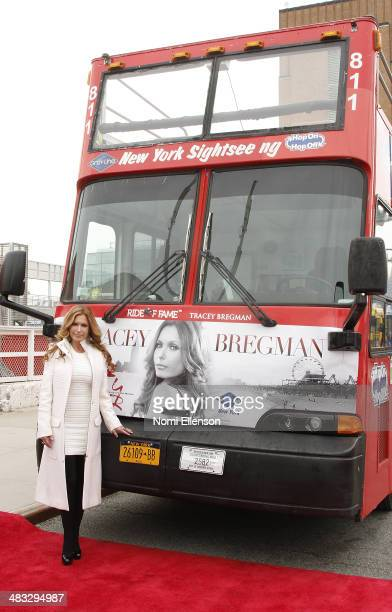 Tracey Bregman attends the Ride of Fame induction ceremony for Tracey Bregman at Pier 78 on April 7 2014 in New York City
