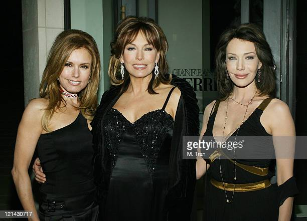 Tracey Bregman LesleyAnne Down and Hunter Tylo during The Bold and the Beautiful Gala to Celebrate 20 Years at Two Rodeo in Beverly Hills California...