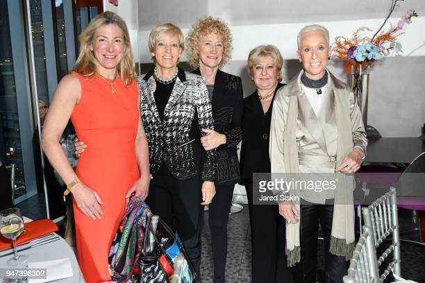 Tracey Chadwell Lynn Connelly Dorrit Bern and Donna Ihnatowycz attend The Museum of Arts and Design Presents LOOT MAD About Jewelry on April 16 2018...