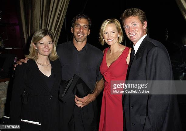 Tracey Chris Chelios Janet Jones and Wayne Gretzky