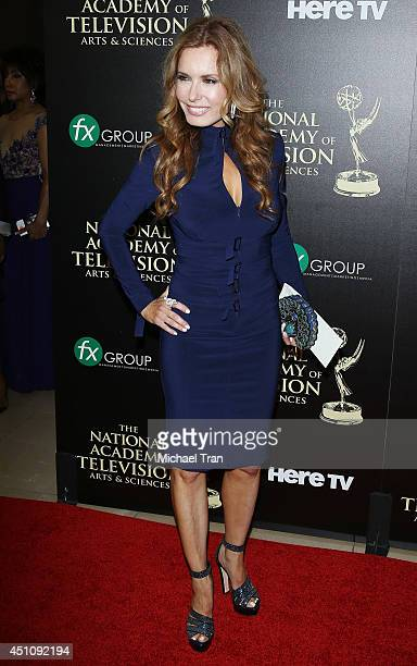 Tracey E Bregman arrives at the 41st Annual Daytime Emmy Awards held at The Beverly Hilton Hotel on June 22 2014 in Beverly Hills California