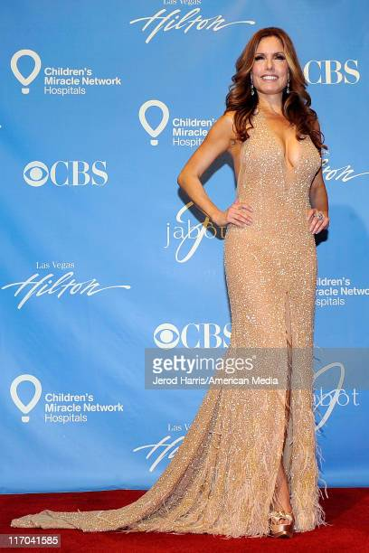 Tracey E. Bregman at the 38th Annual Daytime Entertainment Emmy Awards for Soap Opera Weekly - Press Room on June 19, 2011 in Las Vegas, Nevada.
