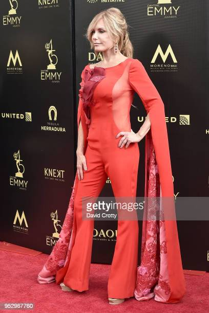Tracey E Bregman attends the 2018 Daytime Emmy Awards Arrivals at Pasadena Civic Auditorium on April 29 2018 in Pasadena California
