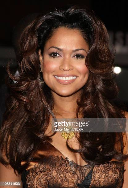 Tracey Edmonds at the premiere of 'Good Luck Chuck' at Mann National Theatre on September 19 2007 in Westwood California
