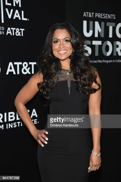 Tracey Edmonds attends as ATT and Tribeca Host 2nd Annual Luncheon for ATT Presents Untold Stories An Inclusive Film Program in Collaboration with...