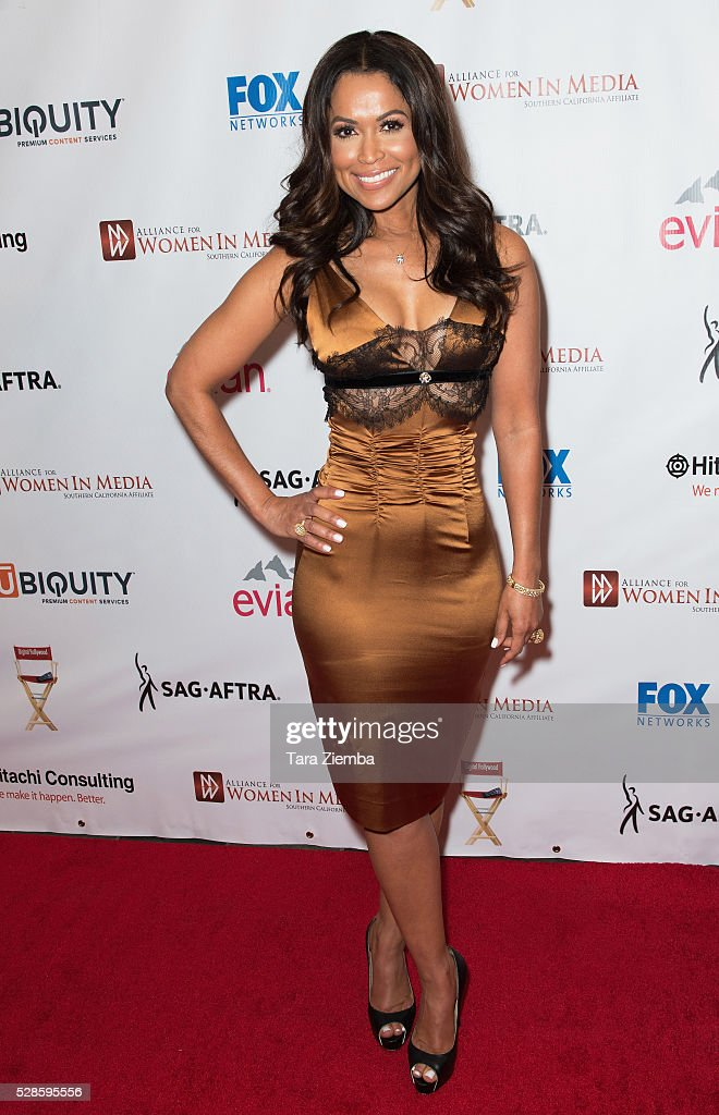 Tracey Edmonds Attends The Th Annual Genii Awards At Skirball Cultural Center On May