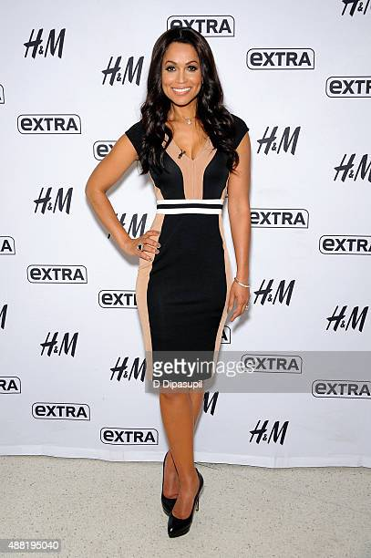 Tracey Edmonds cohosts 'Extra' at their New York studios at HM in Times Square on September 14 2015 in New York City