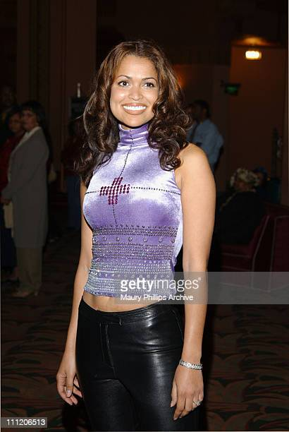 Tracey Edmonds during New Babyface Musical 'Love Makes Things Happen' at The Wiltern Theater in Los Angeles California United States