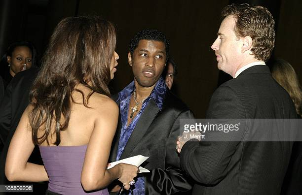Tracey Edmonds Kenny Babyface Edmonds and Robert Greenblatt