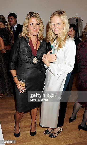Tracey Emin and Alannah Weston attend a Gala Opening of 'RA Now' a new exhibition at the Royal Academy of Arts on October 8 2012 in London England