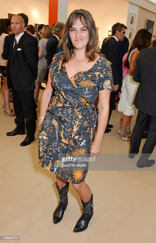 Tracey Emin attends the Art Antiques London Gala Evening in aid of Children In Crisis at Kensington Gardens on June 10, 2014 in London, England.