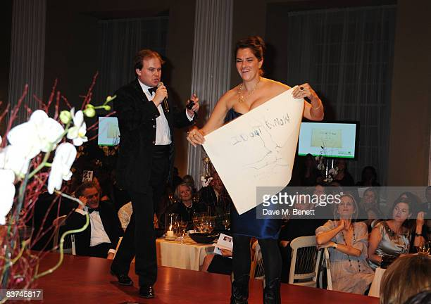 Tracey Emin attends the Chaos Point Gala Dinner where Vivienne Westwood will present her Gold Label Collection in collaboration with the London...