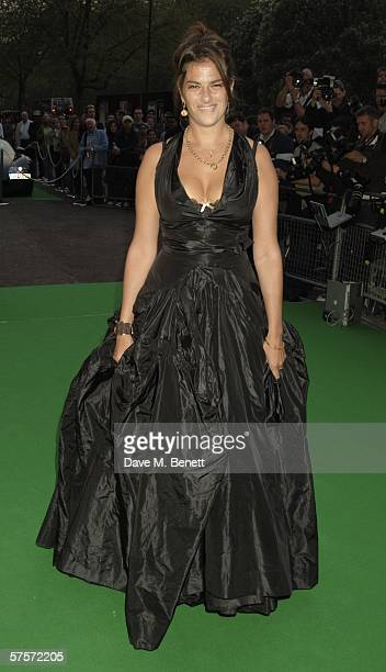 Tracey Emin attends the Dream Auction Full Stop party designed to launch NSPCC's There4Me online service an interactive but confidential website...