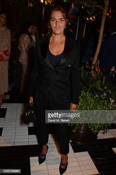 Tracey Emin attends the GQ 30th anniversary party at SUSHISAMBA Covent Garden on October 29 2018 in London England