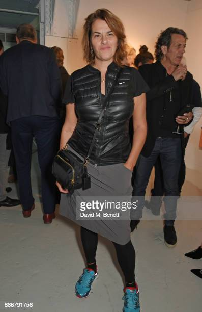 Tracey Emin attends the Hix Award 2017 at Hix Art The Tramshed on October 26 2017 in London England