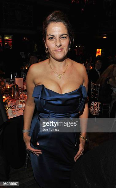 Tracey Emin attends the ICA fundraising gala at KOKO on March 24, 2010 in London, England.