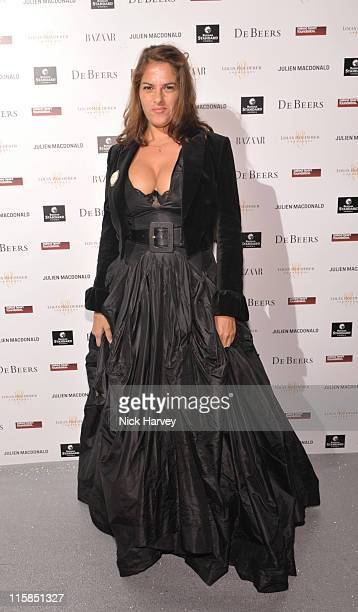 Tracey Emin attends the Love Ball London hosted by Natalia Vodianova and Harper's Bazaar as part of London Fashion Week Autumn/Winter 2010 in aid of...