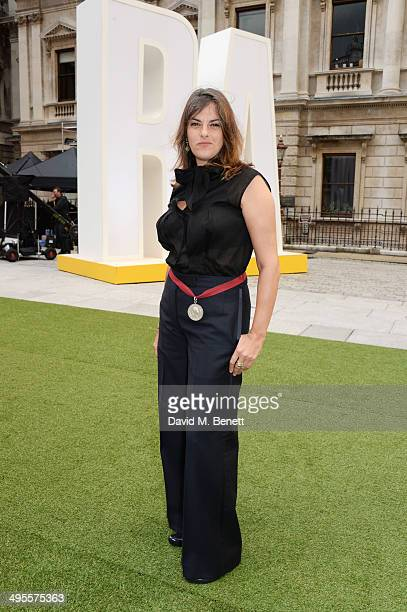 Tracey Emin attends the Royal Academy Summer Exhibition preview party at the Royal Academy of Arts on June 4 2014 in London England